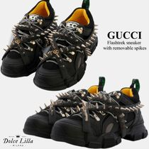 GUCCI   Flashtrek sneaker with removable spikes