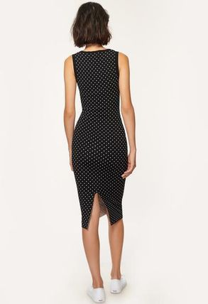Milly ワンピース 安心国内発送 ワンピース♪ MICRO DOT FITTED DRESS(2)