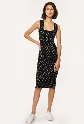 Milly ワンピース 安心国内発送 ワンピース♪ MICRO DOT FITTED DRESS(3)