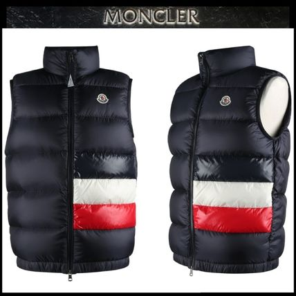 【MONCLER】19AW SOVEX 742 ダウンベスト NAVY/EMS直送