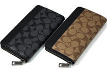 COACH Signature PVC ACCORDION WALLET 長財布 2色から