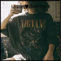 Urban Outfitters/NirvanaプリントT-シャツワンピ!!