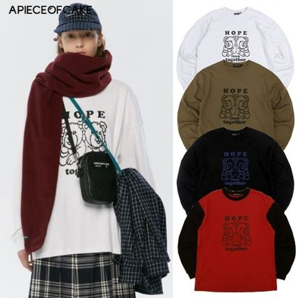 A PIECE OF CAKE Tシャツ・カットソー A PIECE OF CAKE★日本未入荷☆HTT Longsleeve ロンT 長袖