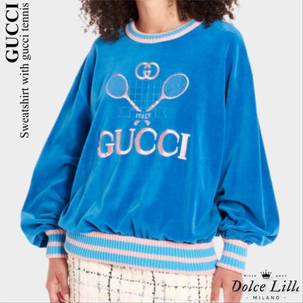 GUCCI   Sweatshirt with gucci tennis