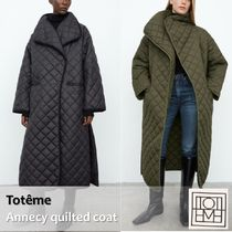 Toteme :: Annecy quilted coat オーバーサイズロングキルト