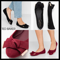 【Ted Baker】ANTHEIA リボンディテール バレエシューズ 2色
