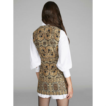 ETRO ワンピース ETRO エトロ Embroidered jacquard mini dress ワンピース(3)