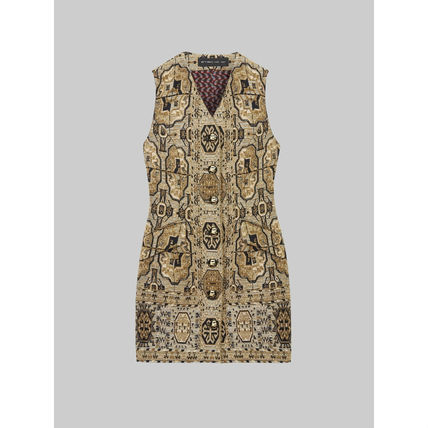 ETRO ワンピース ETRO エトロ Embroidered jacquard mini dress ワンピース(5)