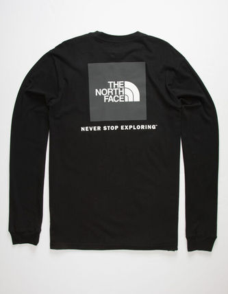 THE NORTH FACE Tシャツ・カットソー THE NORTH FACE★新作/送料込★レッドボックスロゴTシャツ