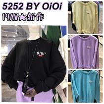 2019FW★新作【5252 by OiOi】2019 SIDE LOGO JUMPER 全7色