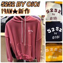2019AW★新作【5252 by OiOi】5252 ARCH LOGO HOODIE 全5色