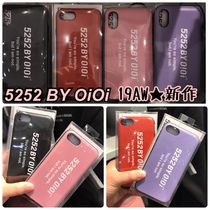2019AW新作【5252 by OiOi】5252 LOGO BUMPER PHONE CASE 全5色
