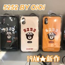 2019AW★新作【5252 by OiOi】CAMPING BEAR PHONE CASE 全3色