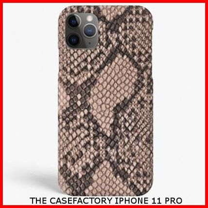 THE CASE FACTORY スマホケース・テックアクセサリー 関税送料込☆THE CASEFACTORY☆IPHONE 11 PRO SOFT PYTHON