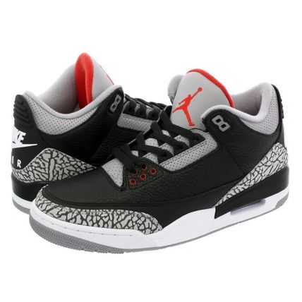[ ナイキ ] air Jordan3 Retro infrared23 スニーカー (黒)