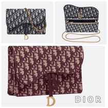 【Dior】《Saddle》Dior Oblique 3WAYバッグ◆安心・追跡付♪