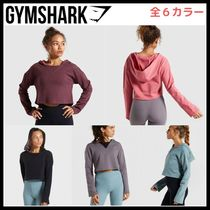 GymShark ★ SOLO CROPPED HOODIE 長袖 フーディー スウェット