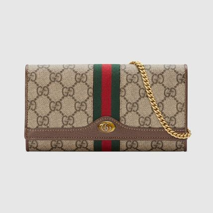 cheap for discount 2455d 8be98 GUCCI★グッチ オフィディア GG チェーンウォレット 長財布