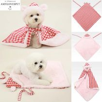 AMYLOVESPET(エイミーラブスペット)★Bear Blanket Red M