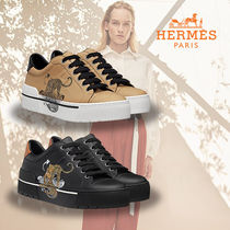 HERMES直営店★エルメス Sneakers Voltage《 Jungle Love 》