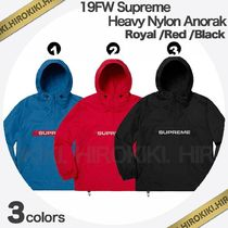 19FW /Supreme Heavy Nylon Anorak Jacket ナイロン アノラック