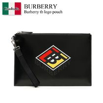 Burberry tb logo pouch