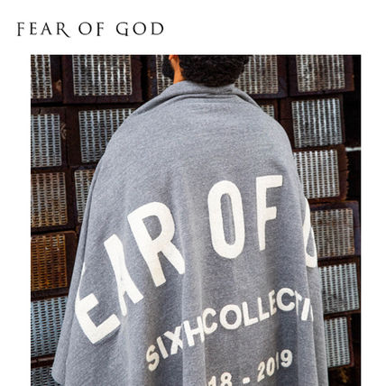 FEAR OF GOD その他ファッション 【FEAR OF GOD】☆最新作☆CHENILLE EMBROIDERED THROW