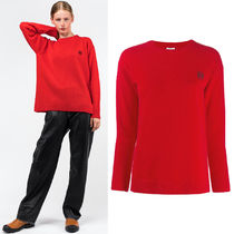 LW023 EMBROIDERED WOOL SWEATER