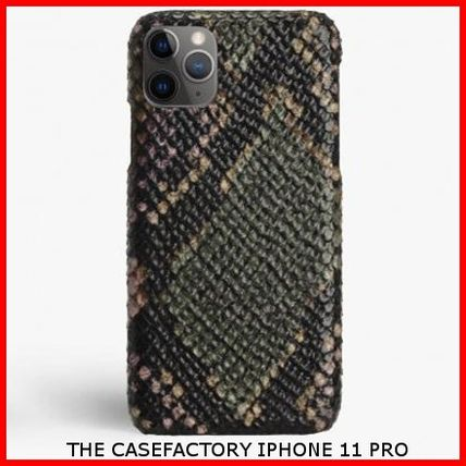 THE CASE FACTORY スマホケース・テックアクセサリー 関税送料込☆THE CASEFACTORY☆IPHONE 11 PRO PYTHON MULTICOLOR