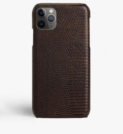 THE CASE FACTORY スマホケース・テックアクセサリー 関税送料込☆THE CASEFACTORY☆IPHONE 11 PRO LIZARD BROWN(2)