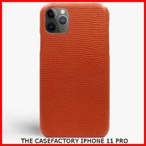 関税送料込☆THE CASEFACTORY☆IPHONE 11 PRO LIZARD ARAGOSTA