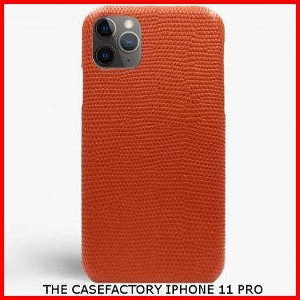 THE CASE FACTORY iPhone・スマホケース 関税送料込☆THE CASEFACTORY☆IPHONE 11 PRO LIZARD ARAGOSTA