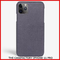 関税送料込☆THE CASEFACTORY☆IPHONE 11 PRO LIZARD PERLA
