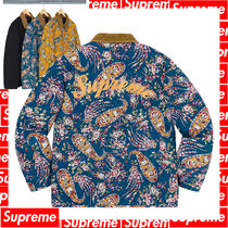 4 WEEK Supreme FW 19 Quilted Paisley Jacket
