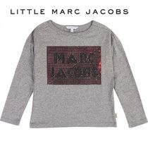 Little Marc Jacobs☆ロゴ長袖Tシャツ・グレー・14歳・2019AW