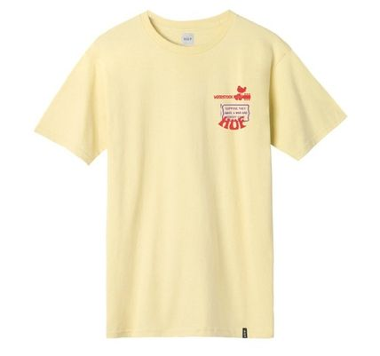 《日本完売》HUF ★ WOODSTOCK NOBODY CAME T-SHIRT ★