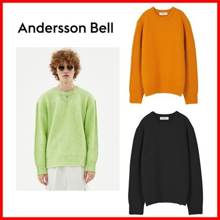 ANDERSSON BELL☆UNISEX INSIDE OUT CREWNECK 3色