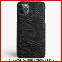 関税送料込☆THE CASEFACTORY☆IPHONE 11 PRO LIZARD BLACK