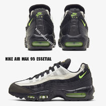 NIKE★AIR MAX 95 ESSENTIAL★黒/ELECTRIC GREEN/PLATINUM TINT