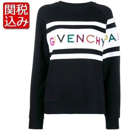 GIVENCHY★刺しゅう入り ロゴ スウェット