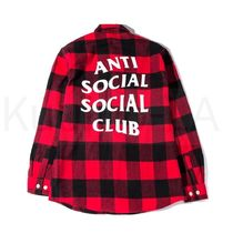 ANTI SOCIAL SOCIAL CLUB No Expectations FLANNEL レッド