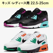 Nike Air Max 90 Leather ナイキ レディース キッズ  22.5-25cm