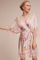 Plum Pretty Sugar Hibiscus Robe