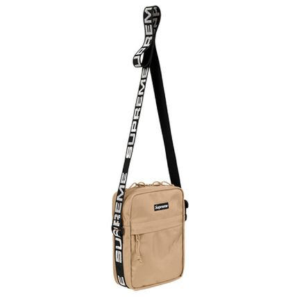 [SUPREME] SHOULDER BAG SS18 TAN