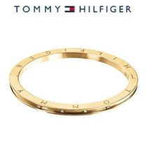 TOMMY HILFIGER Stainless Steel Thin Hingロゴlバングル