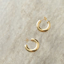 LOUISE DAMAS ピアス フープ LD CHA 5 Charlotte hoop earrings