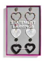 BUILD YOUR OWN HEART EARRING SET