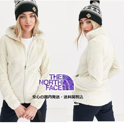 THE NORTH FACE アウターその他 The North Face Osito jacket in white♪