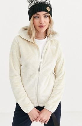 THE NORTH FACE アウターその他 The North Face Osito jacket in white♪(2)