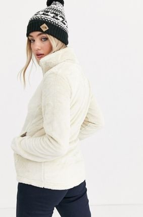 THE NORTH FACE アウターその他 The North Face Osito jacket in white♪(3)
